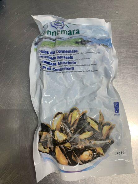 Bantry Bay Mussels (Whole Shell) (Frozen)